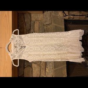 Xhilaration off-white Lace Dress
